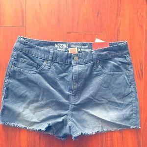 Mossimo women's corduroy high waist shorts  SIZE10